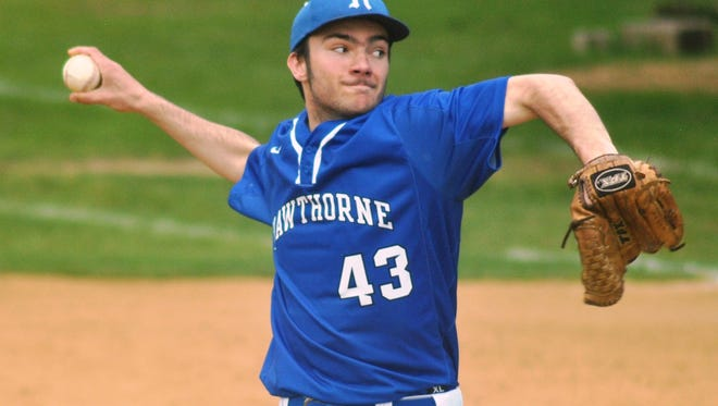 Hawthorne senior pitcher Ryan Morse has been the Bears' top starter and had a 3-3 record with a 2.13 ERA as of last week.