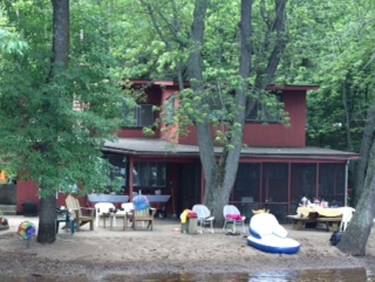 The Murr family cottage on the shore of Lake St. Croix,