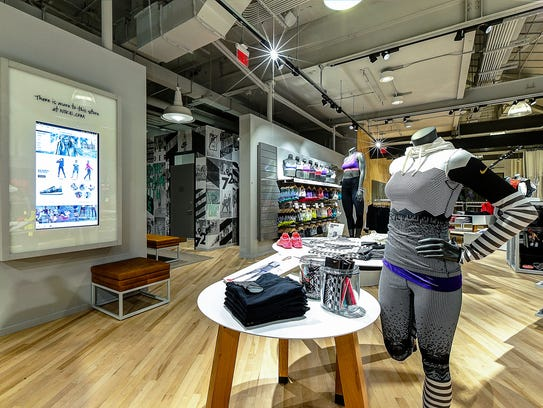 One of Nike's women's-only stores in Newport Beach,