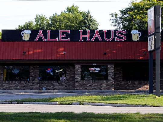 Two people were stabbed Saturday night at Dieter's Ale Haus 830 E. Northland Ave. in Appleton.