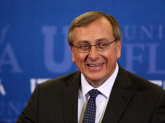University of Florida President W. Kent Fuchs
