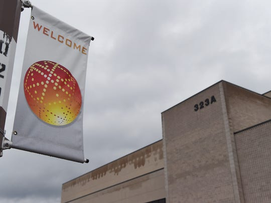 Building 323A at GlobalFoundries' East Fishkill plant on Thursday.