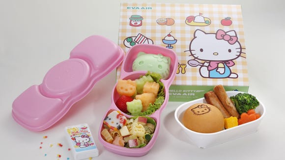 EVA AIR NEW KIDS MEAL - coming this fall