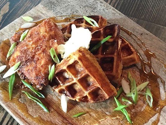 Mighty Quinn's new chicken and waffles