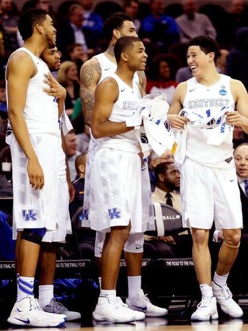 Kentucky coach John Calipari said when a bunch of players