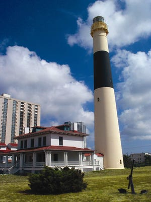 The Absecon Lighthouse is New Jersey's tallest lighthouse and the third tallest lighthouse in the United States.