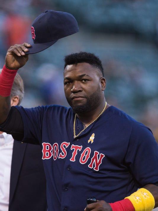 USP MLB: BOSTON RED SOX AT OAKLAND ATHLETICS S BBA USA CA