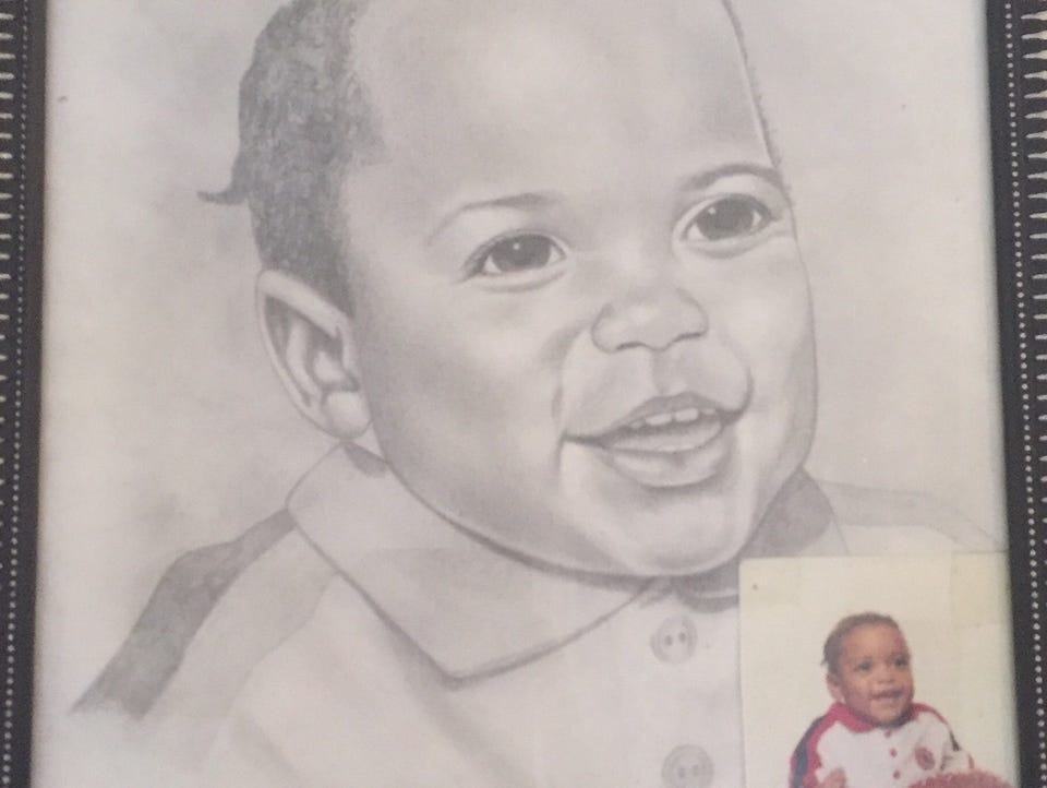 A baby picture of 18-year Stef'An Strawder, who was killed on Monday after attending Club Blu.