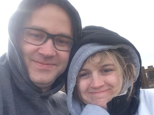 A submitted photo of Cameron Grischott, 29, and Carolyn