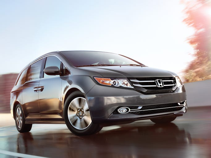 There's nothing better than the 2014 Honda Odyssey for a long family trip. Start your trip for $28,825.