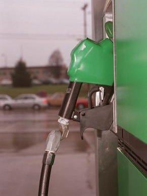 A gasoline pump at a BP station somewhere in Cincinnati.