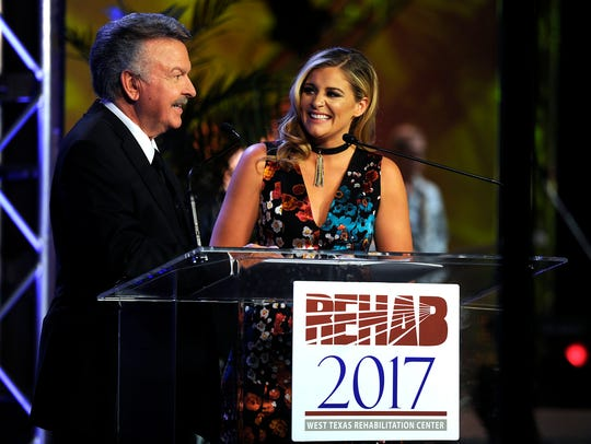Charlie Chase interviews Lauren Alaina during the West