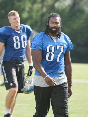The Lions placed tight end Brandon Pettigrew on the reserve/physically unable to perform list for the regular season and will miss at least the first six weeks.