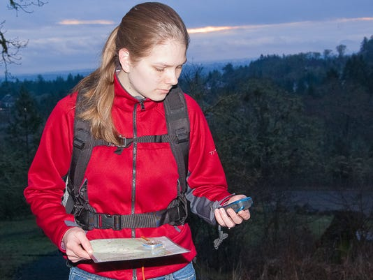 Chemeketans GPS map compass route finding