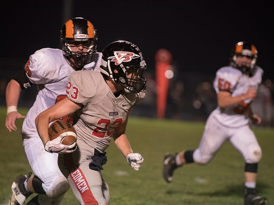 Harley Robinson will need a huge game against Mohawk