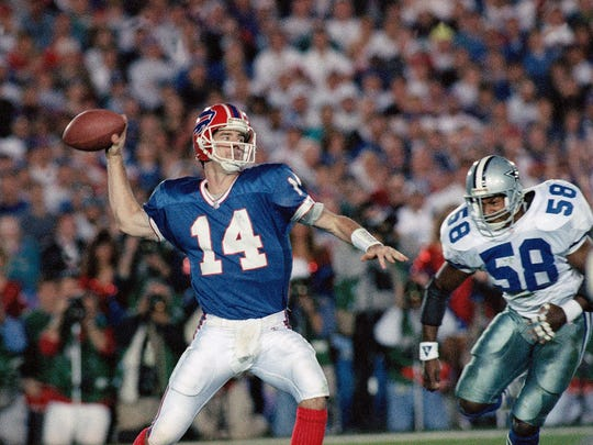 A few weeks after pulling off the greatest comeback in NFL history, Frank Reich was forced into action in Super Bowl XXVII when Jim Kelly suffered a knee injury.