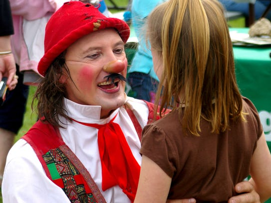 Giovanni Zoppe aka Nino the clown, is part of the Zoppe