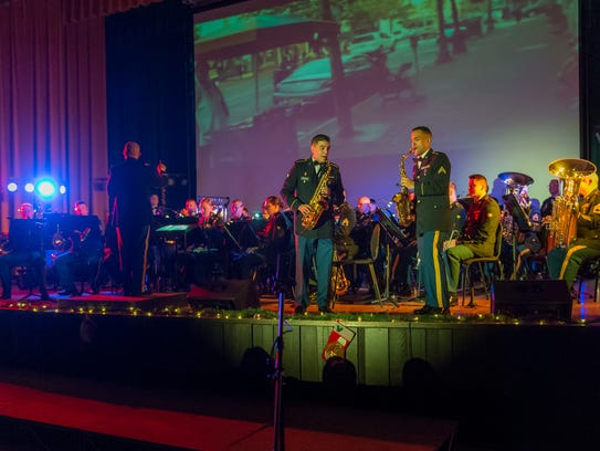 Friday night's free concert is a form of community outreach for the 399th Army Band, which usually performs closer to Fort Wood.
