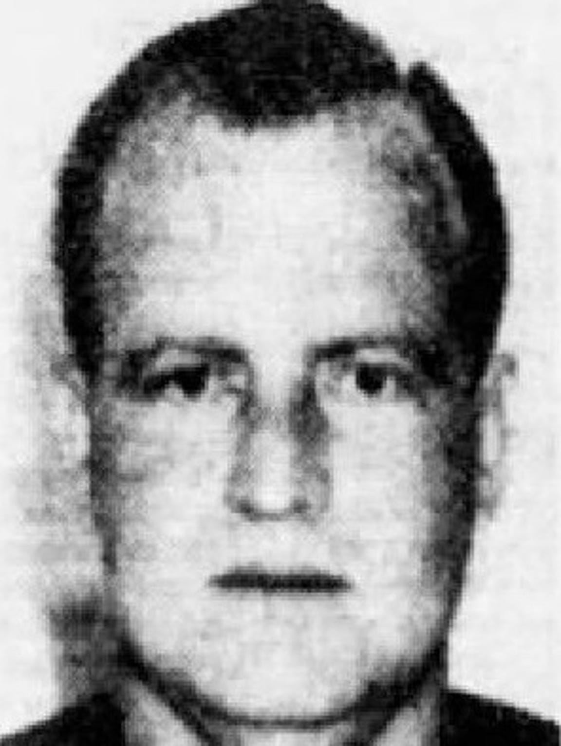A mugshot of Gary Tison in an archive from The Arizona