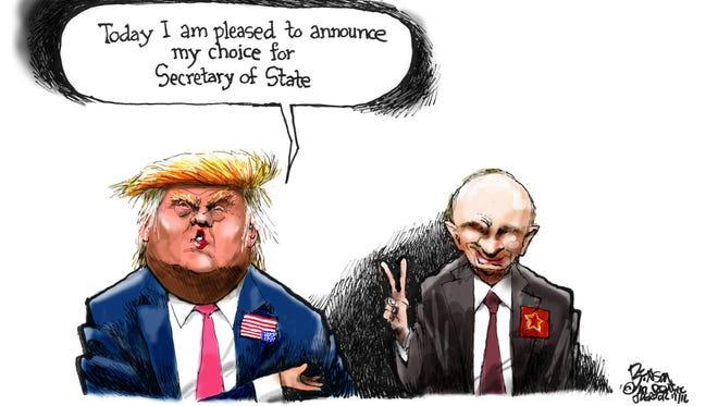 Cartoon for Nov. 18, 2016.