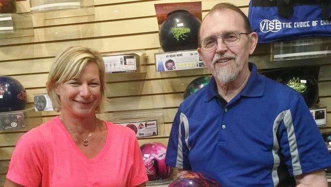Sandy Sheppard and Darwin Wimer