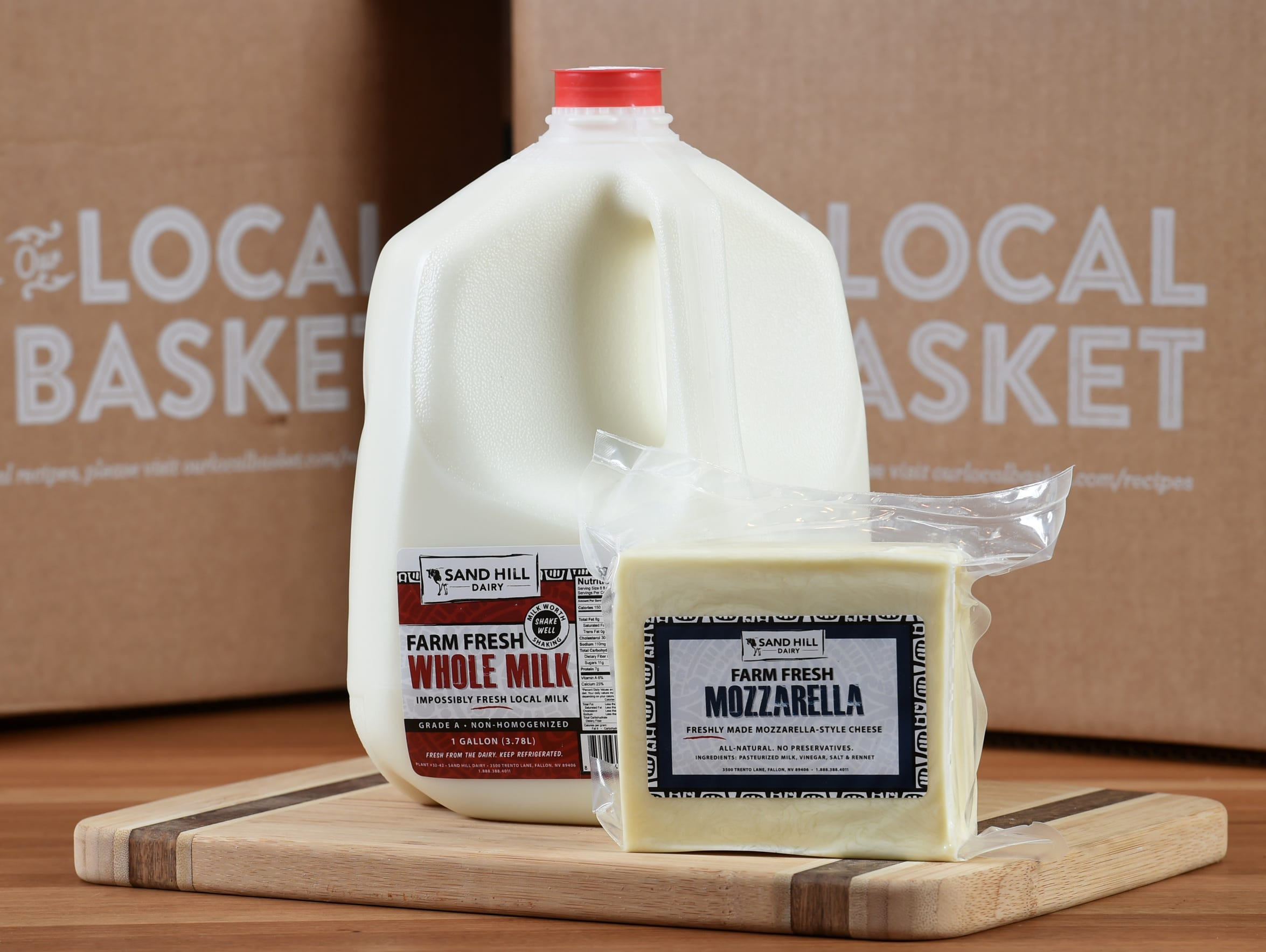 Sand Hill Dairy of Fallon ranks among the local farmers