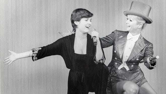Carrie Fisher and Debbie Reynolds are featured in HBO's documentary film 'Bright Lights: Starring Carrie Fisher and Debbie Reynolds.'