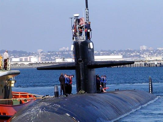 The USS Bremerton. (Wikipedia photo)