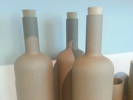 You don't have to keep wine in your natural porcelain wine bottles. In fact, you don't have to keep anything in there at all. We won't tell. $36 each by Hasami at Wilder, 1212 Fourth Ave. N., wilderlife.com; 615-679-0008.