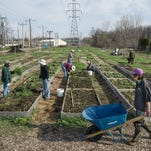 Westland DTE Energy Farm gardeners get ready for spring planting
