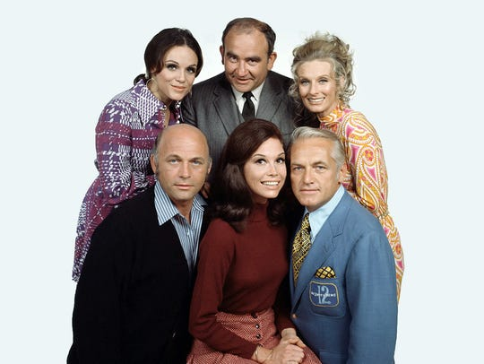 Valerie Harper (from left, top), Ed Asner, Cloris Leachman,