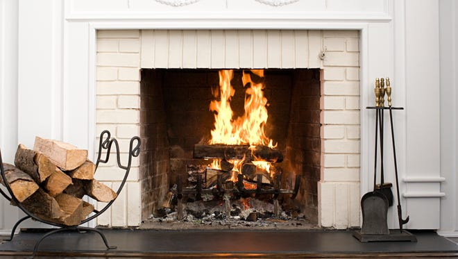 If you have a house with a fireplace, make sure you close the damper when the fireplace is not in use, otherwise it will suck the warm air out.