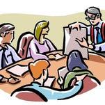 Meetings.