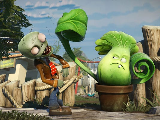 plants vs zombies garden warfare brings the popular tower defense games formula to the shooter genre - Plants Vs Zombies Garden Warfare Xbox One