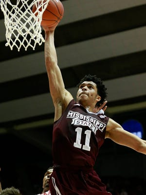 Mississippi State freshman Quinndary Weatherspoon was named SEC Freshman of the Week on Monday.
