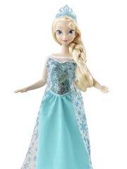 The Disney Frozen Sparkle Princess Elsa Doll