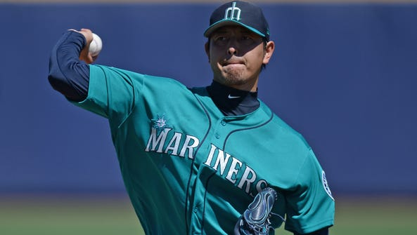 The Mariners' Hisashi Iwakuma had his best outing of