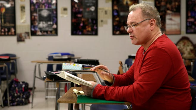 Ron Parker has taught and led the theater program at Appleton North High School for 16 years.