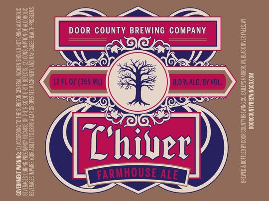 L'hiver is a winter farmhouse ale inspired by the traditional