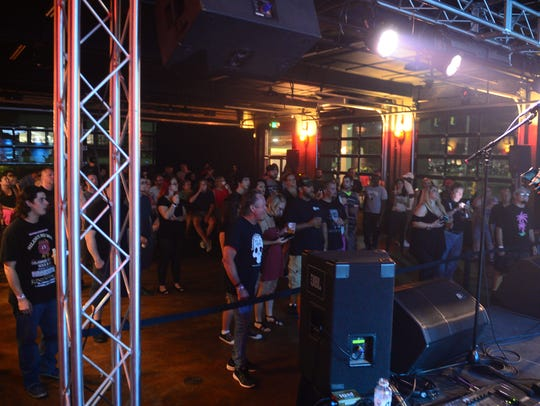 Local band Silence No More performed at Headquarters