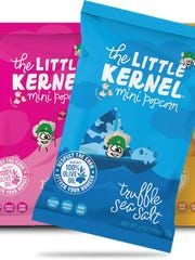 The Little Kernel mini popcorn was created by Chris