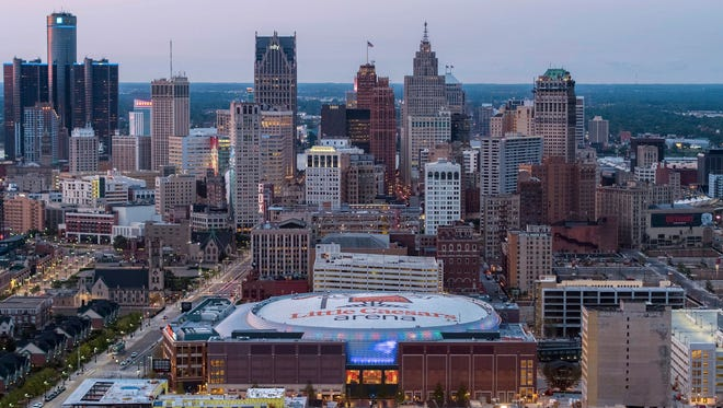 Little Caesars Arena is a homecoming for the Pistons, who moved in from the Palace of Auburn Hills. For hockey fans, it's an exciting new venue for the Red Wings, who left the aging Joe Louis Arena for their new site.