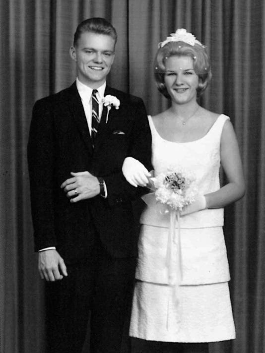 Mr. and Mrs. Kellenberger in 1965