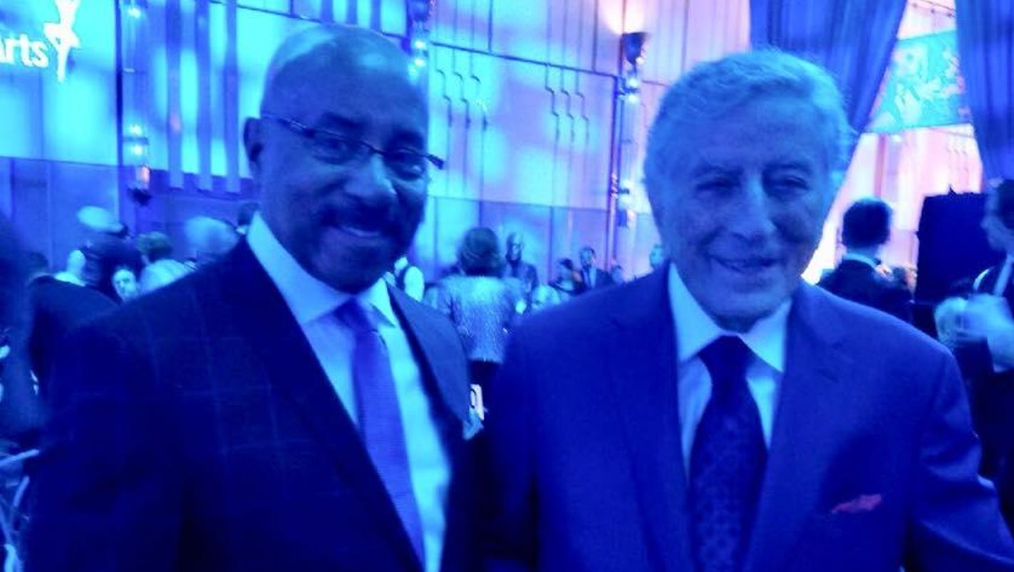 SC: Detroiters enjoy Tony Bennett arts gala in NYC