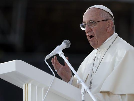 AP VATICAN POPE GENDER I FILE POL