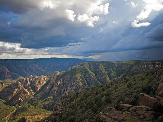 Sycamore Point offers dazzling views near Sycamore Rim Trail.