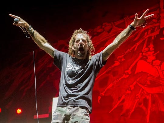 Lamb of God opens for Slipknot at Ak-Chin Pavilion on Saturday, Aug. 29, 2015 in Phoenix.