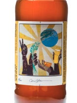 Phoenix's Carrie Bloomston created one of 20 labels for the Blue Moon Artist Series.