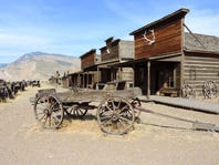 Old Trail Town is full of Old West artifacts