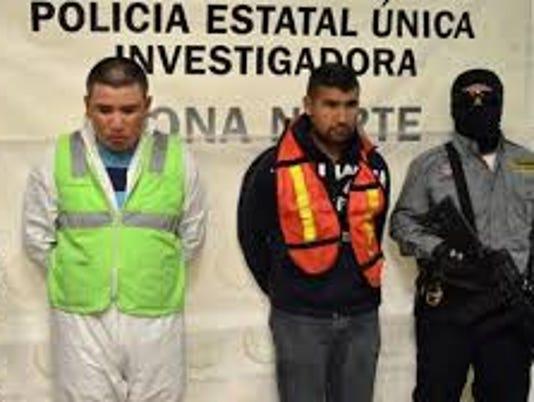 Men arrested in massacre